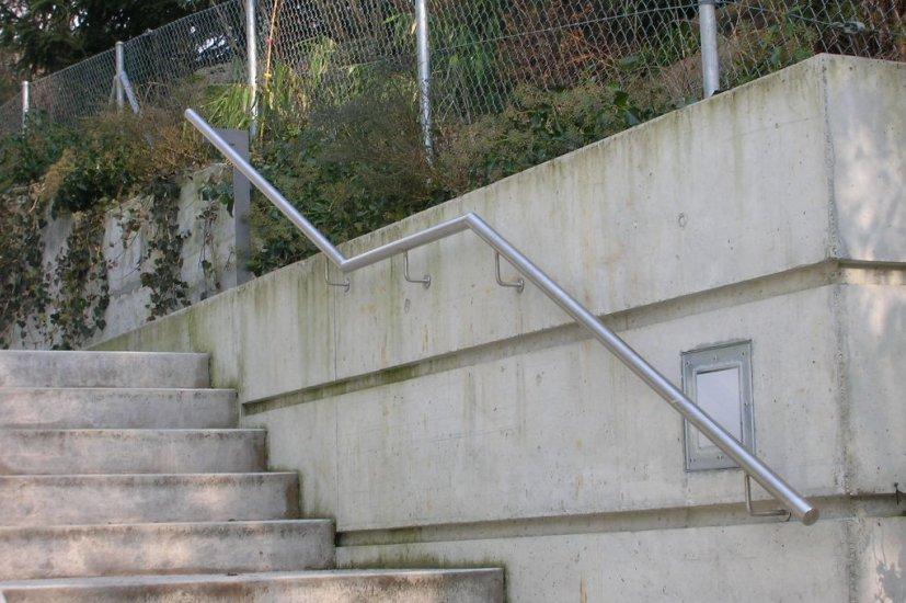 Geländer Handlauf