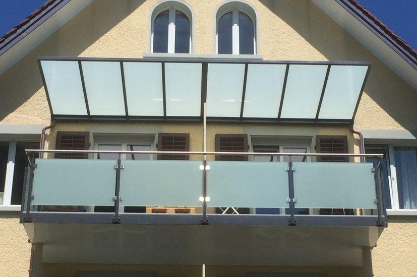 MetallDesign Balkonanbau Vordach