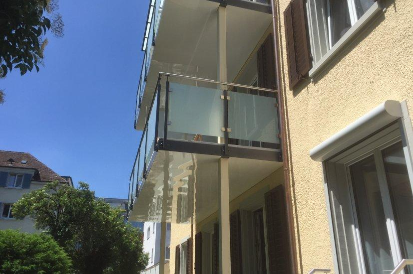 MetallDesign Balkonanbau