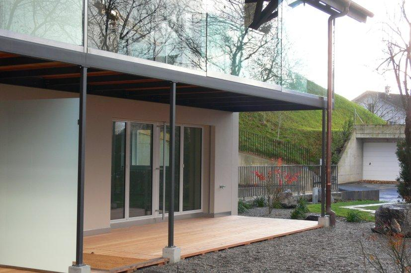 MetallDesign Glasbau Front