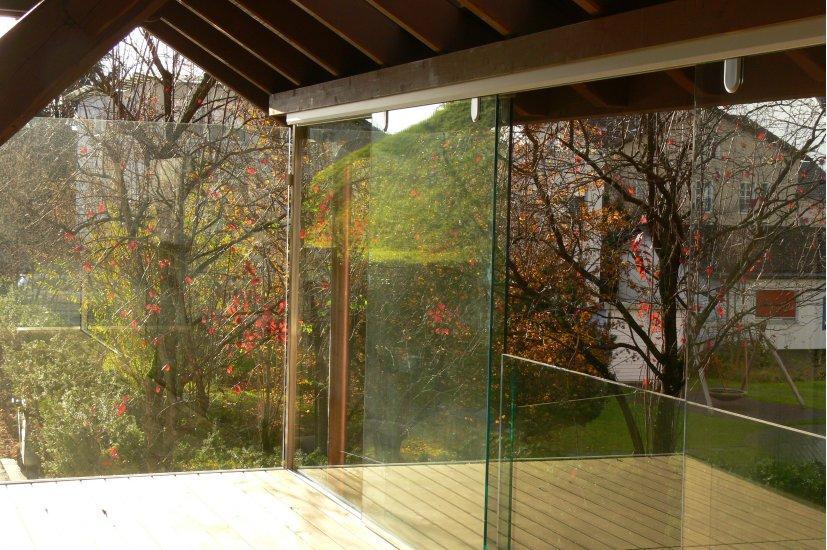 MetallDesign Glasbau Glasfront