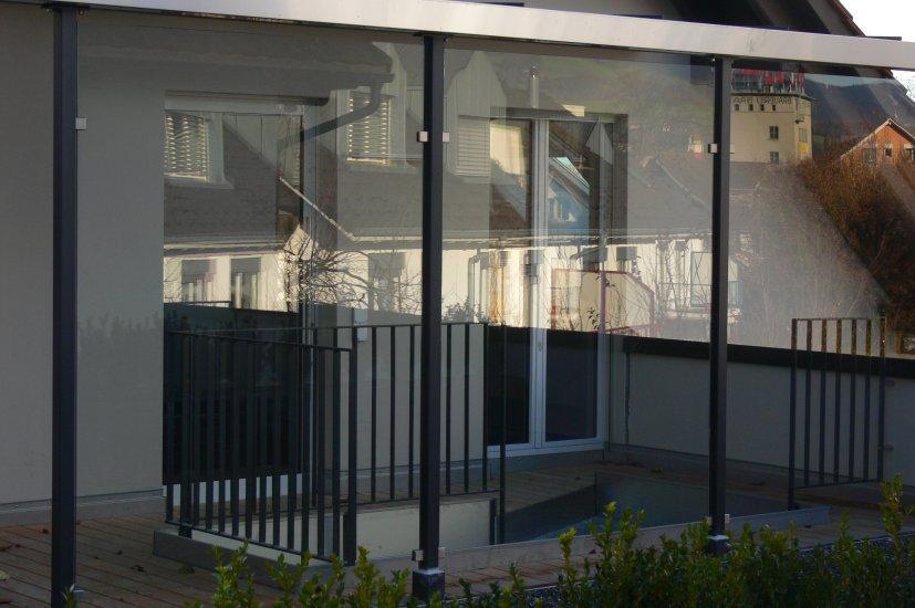 MetallDesign Glasbau Trennwand